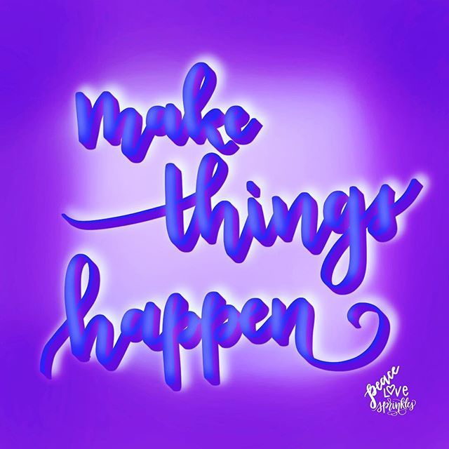 Its finally FRIDAY!!! Make things happen lets go!! #colorcrush #calligraphycommunity #letterarchive #brushcalligraphy #moderncalligraphy #brushlettering #handlettering #lettering #letterallthethings #peacelovesprinkles #handwriting #brushpen #typography #learnlettering #instagood #artsogram #dailyart #ipadpro #ipadpencil #applepencil #procreate #rockyourlettering