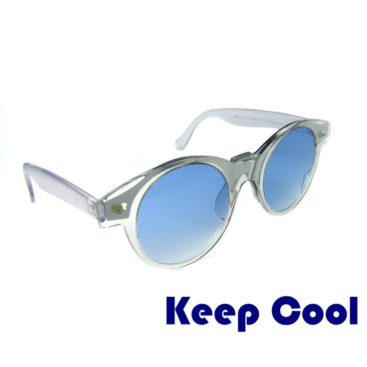 "Vintage sunglasses KEEP COOL SWATCH These round sunglasses are original and were made by Swatch in 1990s. The ""Keep cool"" model is a bit more classic. The lenses are always round but larger than the other models. The lenses are pleasantly blue. The glasses are made of high quality acetate. The mask can be removed. Price: €9.99"