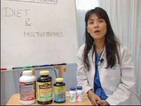 How to Relieve Menopause Symptoms : Diet & Vitamins for Menopause Relief