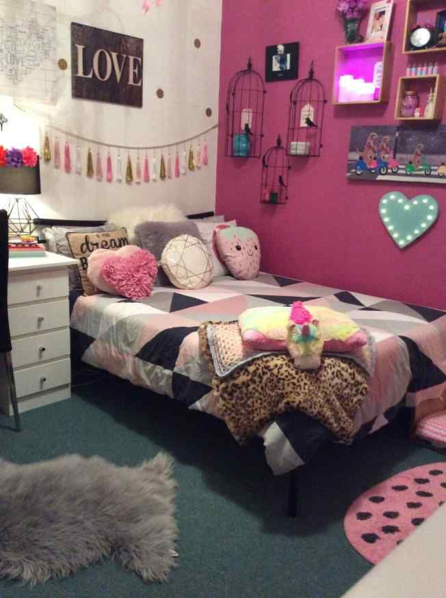 Unicorn Bedroom Ideas Kid Rooms Diy Fresh Pin By Phanie Garcia On Unicorn Decorations Pinterest Small Apartment Room Small Room Bedroom Simple Bedroom