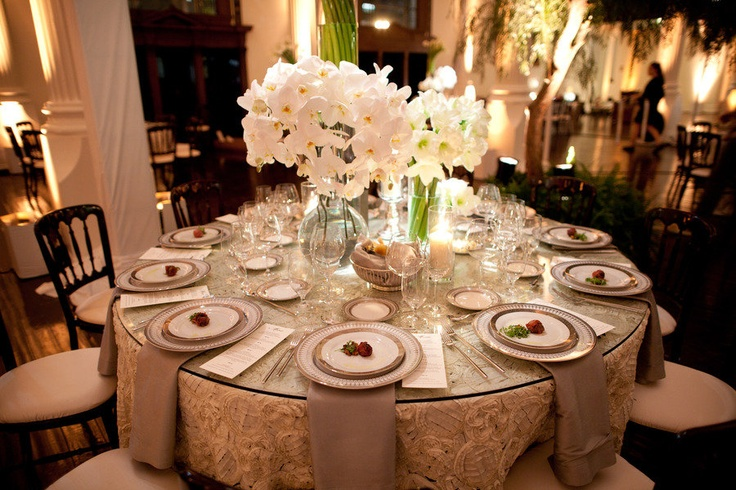 elegant table settings weddings 2
