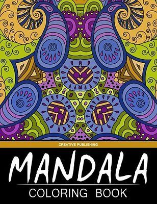 Mandala Coloring Book: Creative Publishing - The Best Coloring Books For Adults (Volume 4)