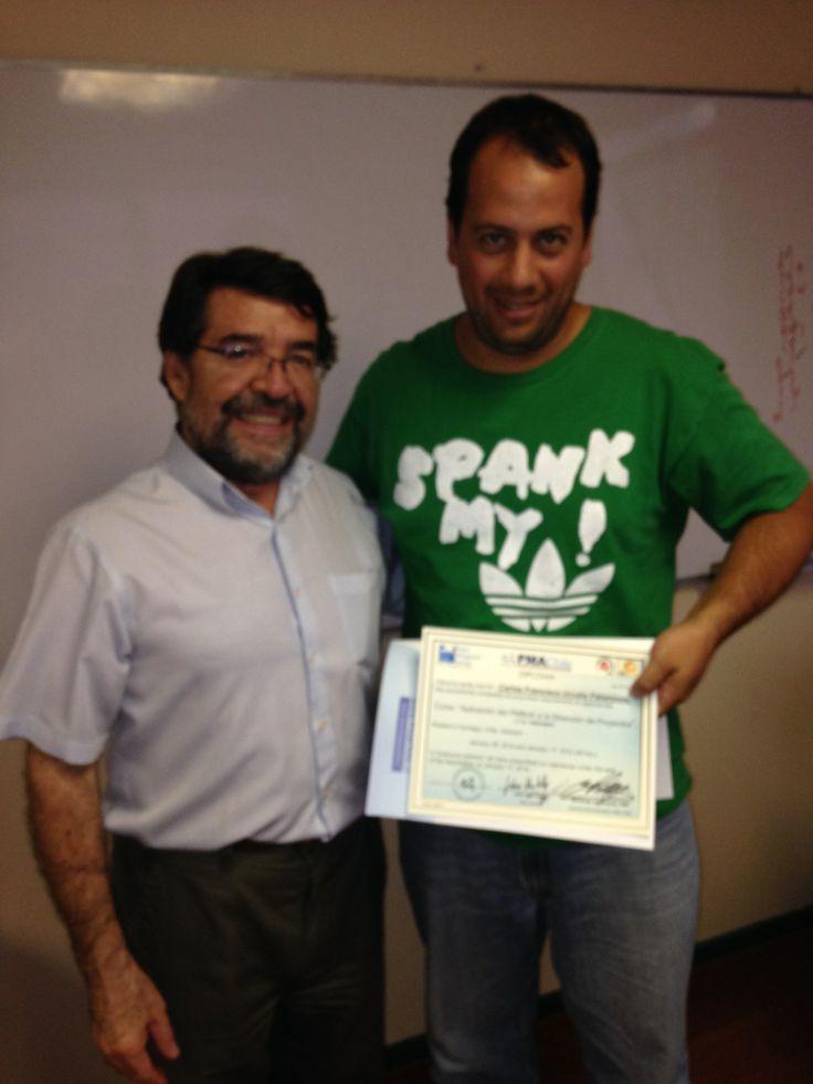 Felicitaciones Carlos Urrutia!!!