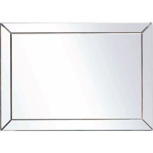 Buy Living Silver Large Glass Bevelled Wall Mirror at Argos.co.uk - Your Online Shop for Mirrors.