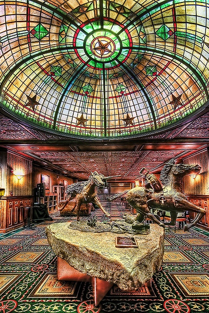 Inside the Historic Driskill Hotel in Austin, Texas. TexasGotItRight.com