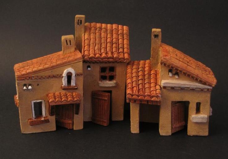 Oltre 25 fantastiche idee su case in miniatura su for Casette di legno del paese