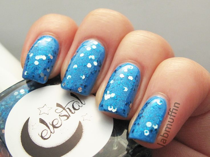 Silk Sapphire swatched by @labmuffin