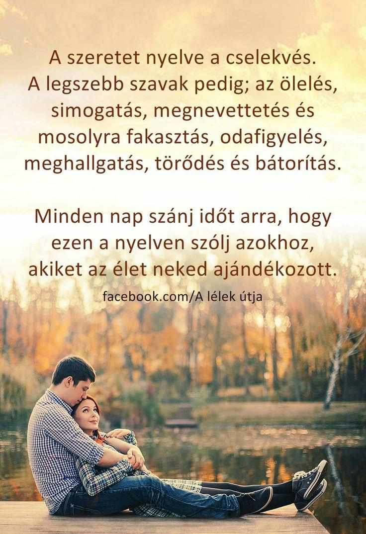A szeretet nyelve a cselekvés ..