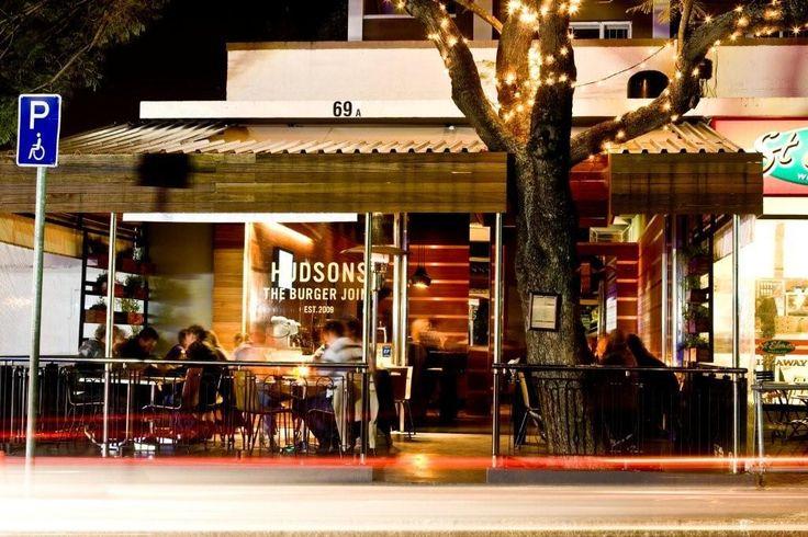 Hudsons Burger Joint, Kloof Street, Kaapstad. De beste burger van Kaapstad?