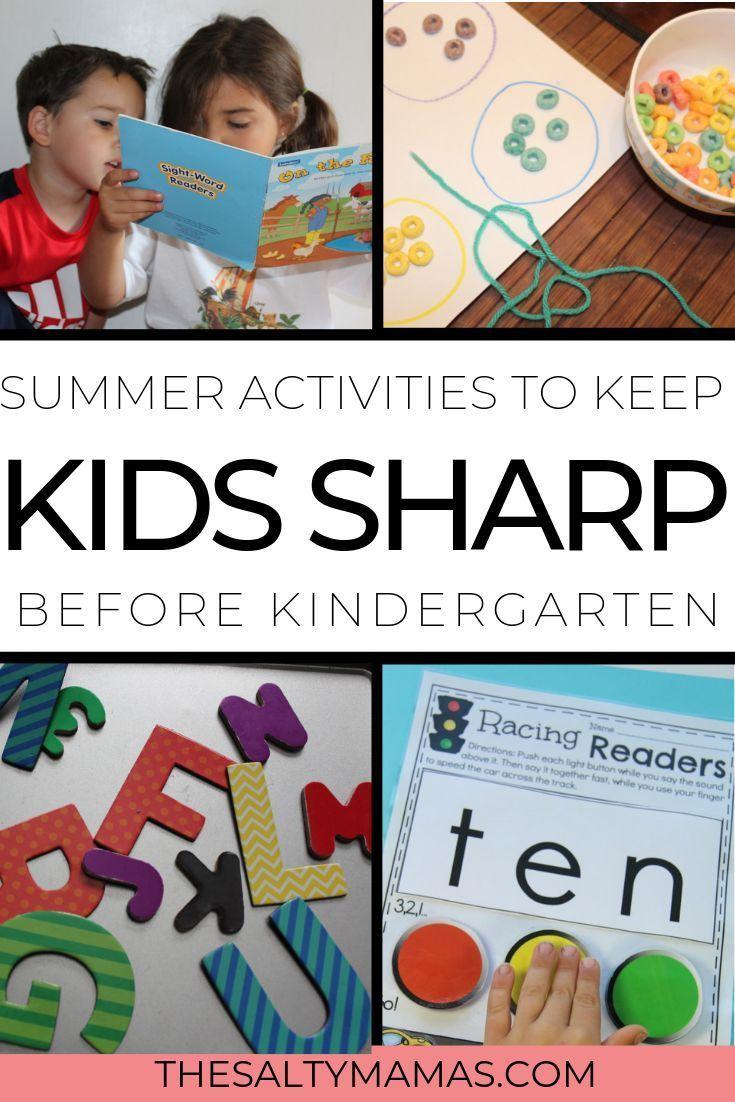 Summer Learning Activities for Kindergarten & Preschool