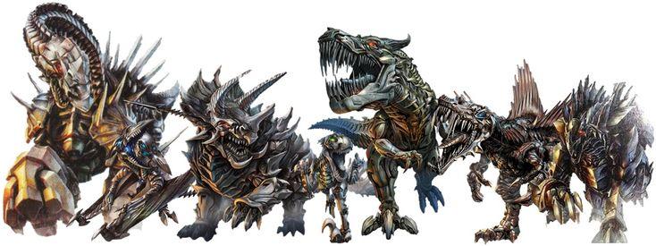 transformer dinosaur | Loas aliados de los Autobots, en la era de la extinción, no posan de ...