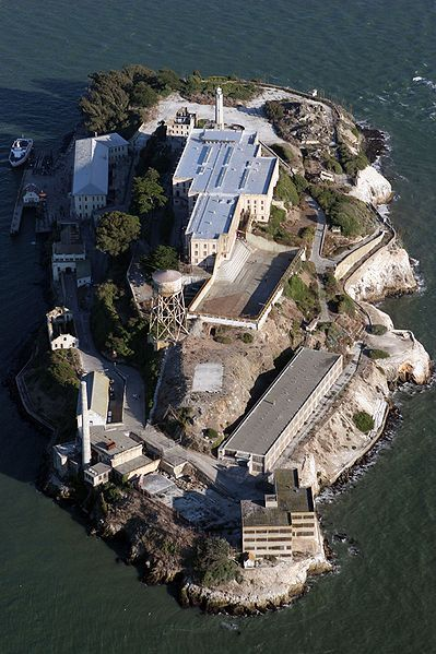 Alcatraz, San Francisco. California A fascinating place to visit, on the SF Bay Area tourist must do list http://papasteves.com