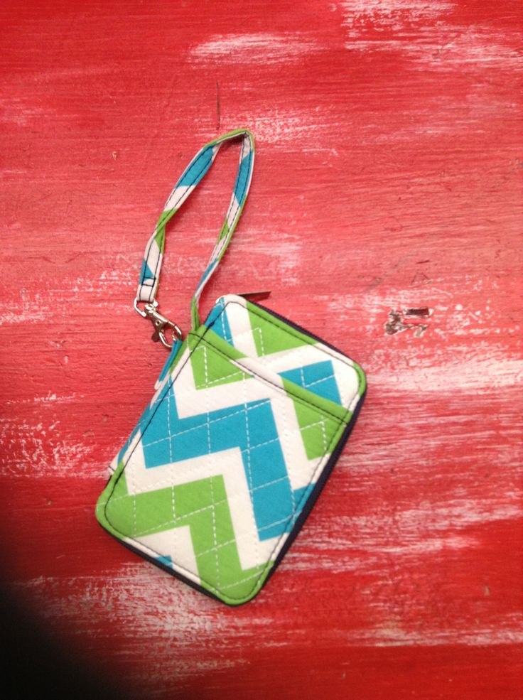 Quilted Wristlet/Wallet