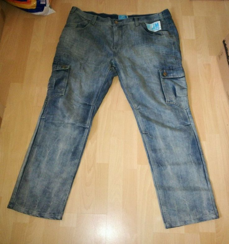 JFM Jeans for me Cargo Hose hellblau U-Größe 31 Neu
