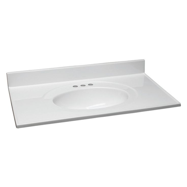 Design House Cultured Marble Vanity Top - 552026, DHIC602-5