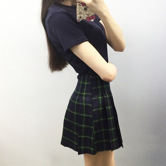 mixxmix // american apparel skirt