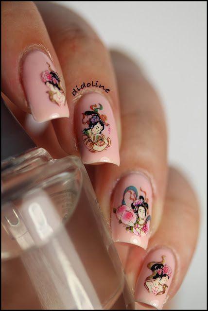 Nails Inc - Elizabeth Street & Water Decals #nails #nailpolish #polish #nailsinc #elizabethstreet #waterdecals #bornprettystore #didoline #didolinesnails @nails inc @BornPrettyStore @BornPrettyStoreDaisy