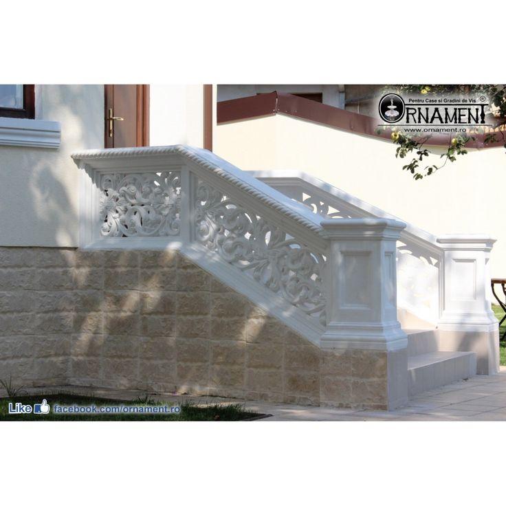 Trafor perforat din beton stil Clasic Brancovenesc
