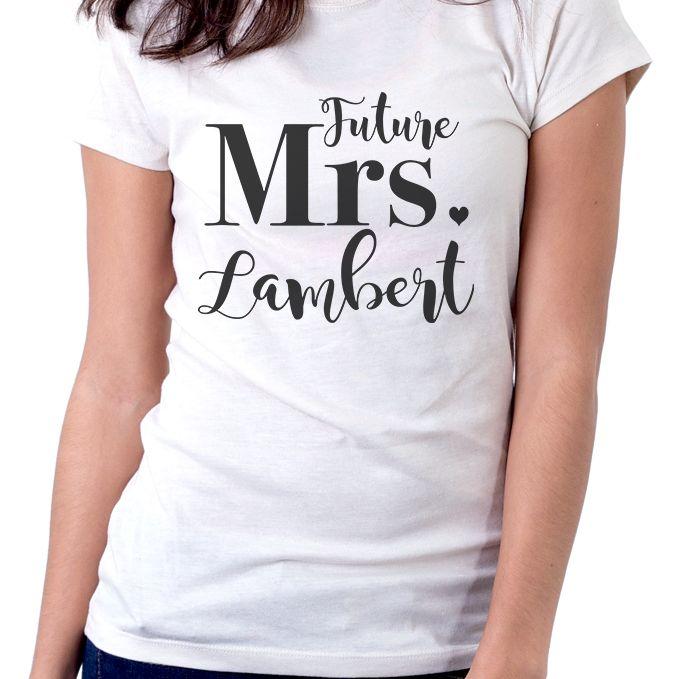 Future Mrs. Personalised T-Shirt