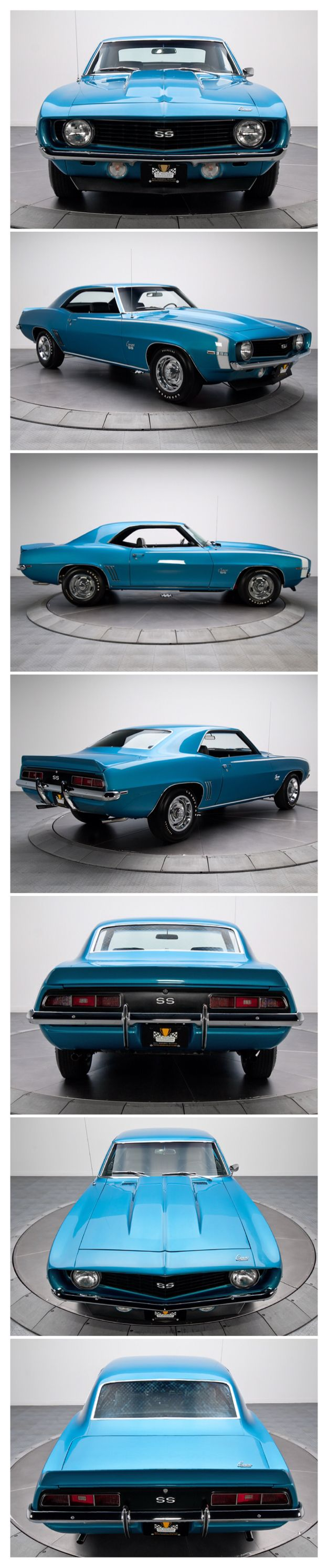 Chevrolet Camaro SS 1969.