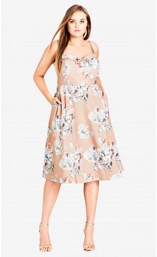 94bce4f10e6 Paper Floral Dress