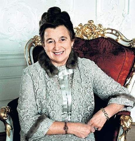 Irena Svobodová, rozená Stratilová, manželka Ludvíka Svobody