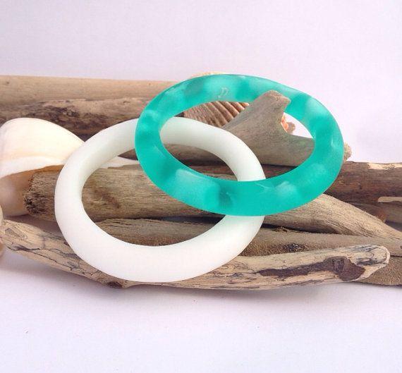 Wave effect handmade ecoresin organically shaped by PipandtheSea, $20.00