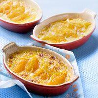 Oranges : Découvrez la recette Gratin d'oranges au miel sur cuisineactuelle.fr.