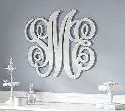 Harper Personalized Monogram Letters From Pottery Barn Kids