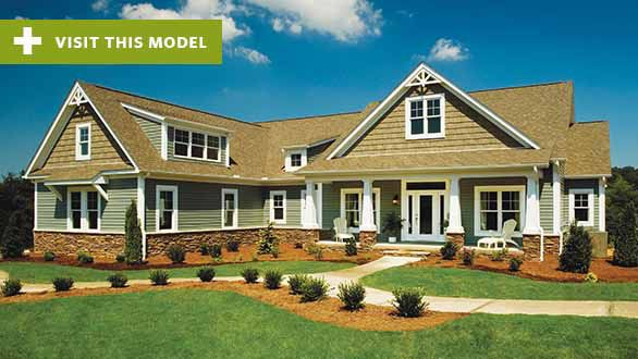 Schumacher Homes House Plan Detail Spring Hill New