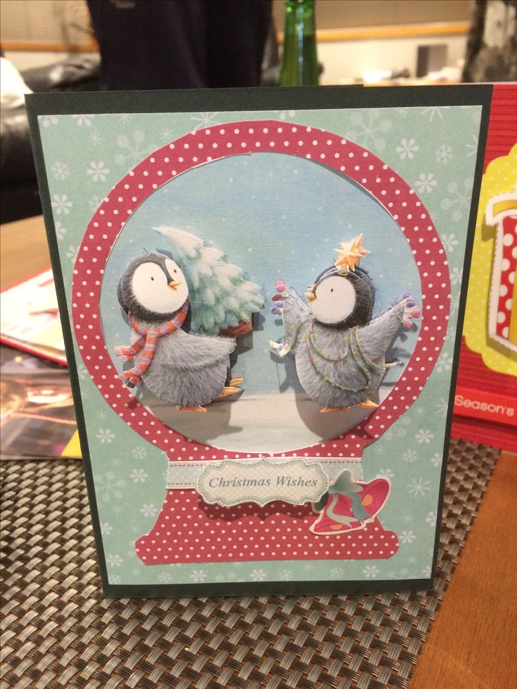 Christmas Card Penquins
