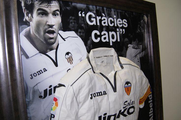 Camiseta de David Albelda | Irrepetibles