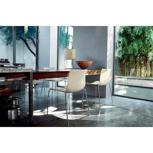 Arper Catifa 53 Tube stoel. Modern en romantisch #Arper #stoel #design #Flinders