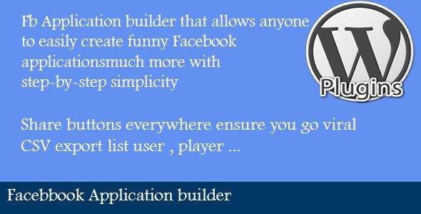 Download Nulled Facebook Application Builder For Free