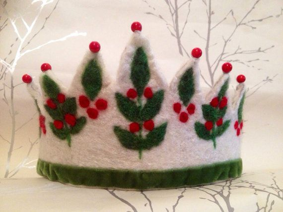 Snow Berry Waldorf Crown