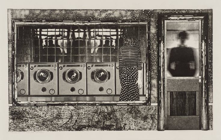 Tim Mara 'The Launderette', 1978 © The estate of Tim Mara