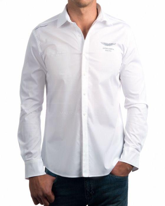 Camisas Hackett Aston Martin - Blanca