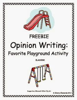 Opinion Writing FREEBIE