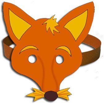 Plus de 25 id es uniques dans la cat gorie masque renard sur pinterest masque de renard - Masque de renard a imprimer ...