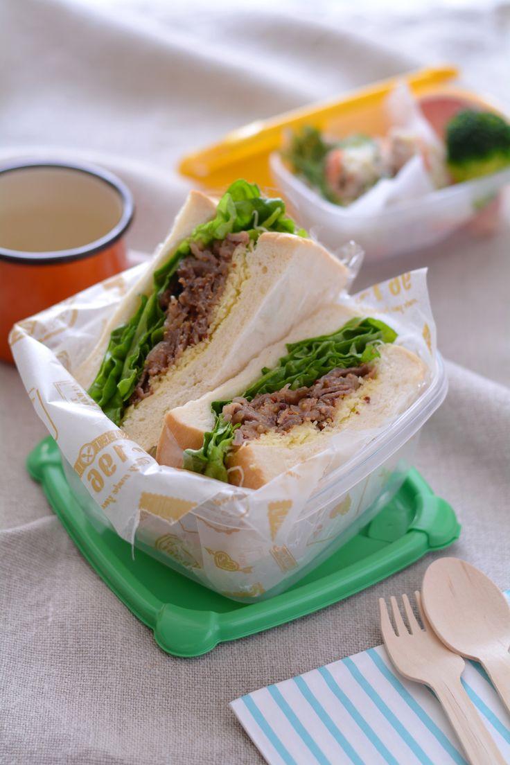 牛肉のハニーマスタードサンド by 西山京子/ちょりママ | レシピサイト「Nadia | ナディア」プロの料理を無料で検索