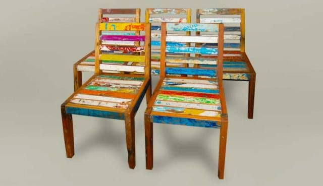Boat Recycled Furniture | Gogreen Furniture Indonesia
