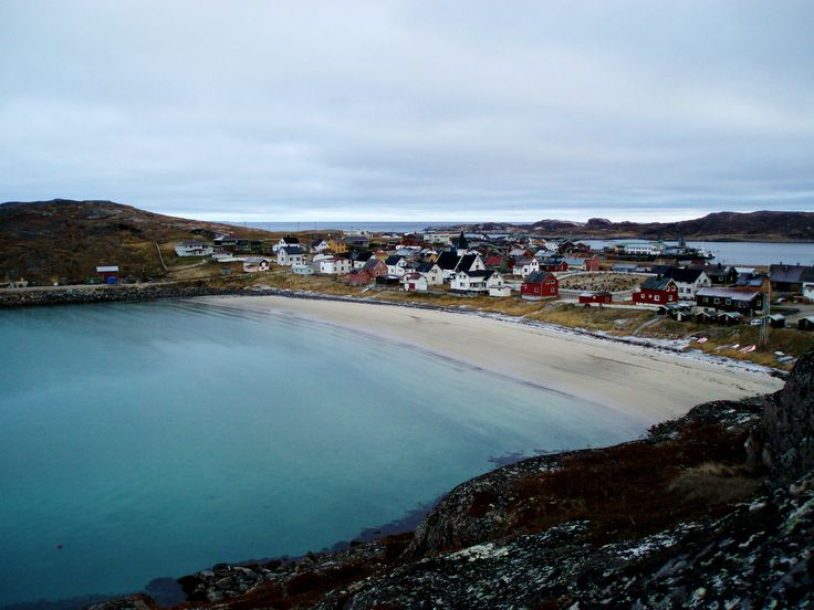 Bugøynes, a fishing village in Sør-Varanger Municipality in Finnmark, Norway