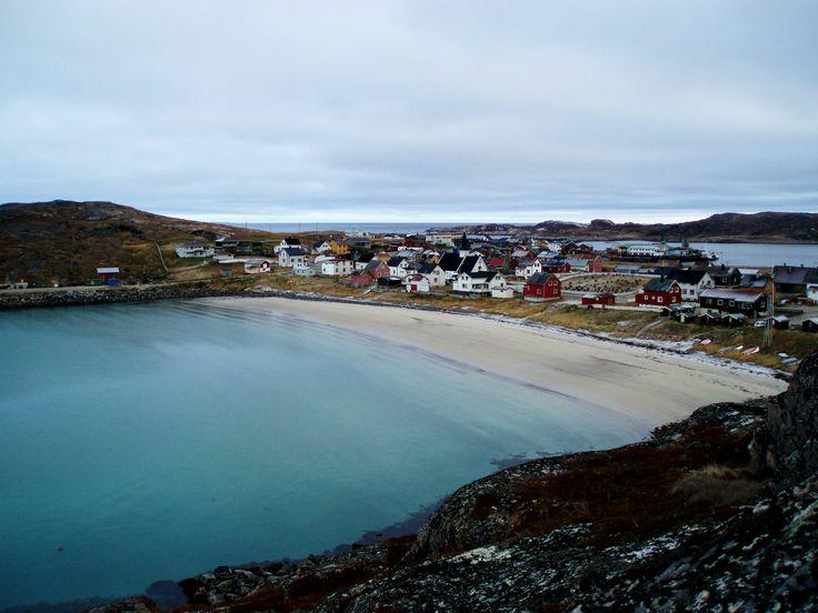 Bugøynes, a fishing village in Sør-Varanger Municipality in Finnmark, Norway