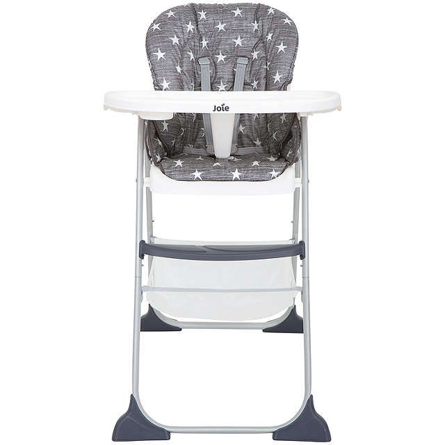 BuyJoie Baby Mimzy Snacker Highchair, Twinkle Linen Online at johnlewis.com