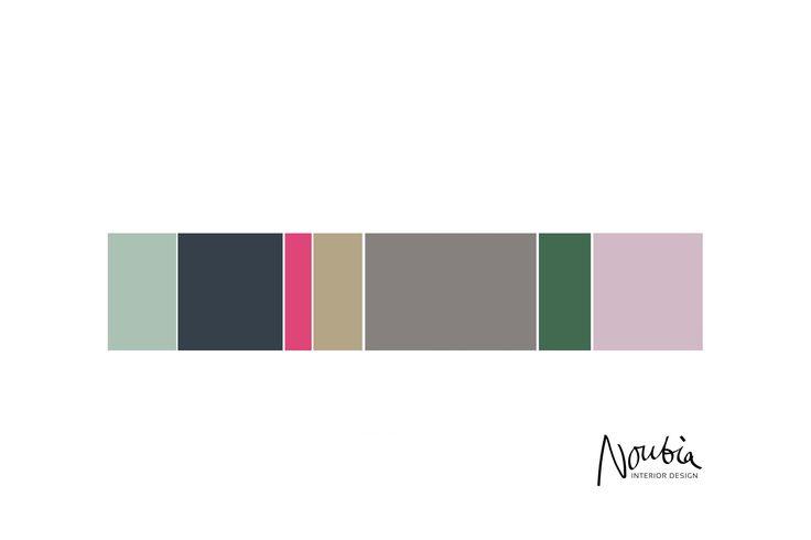 Colour advise for a feminine interior in Amsterdam, #pinkpalette #green #interiorinspo #interiordesign #interiors #interieuradvies #interieurontwerp