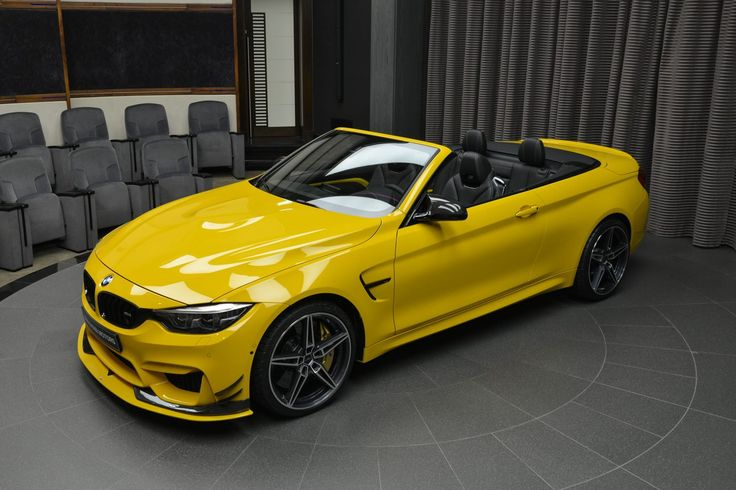 BMW M4 Convertible Straps On AC Schnitzer Body Kit And Exhaust