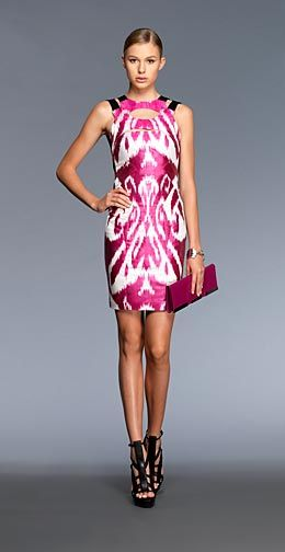 Ikat Silk Dress from Gucci's Spring/Summer 2010 Collection