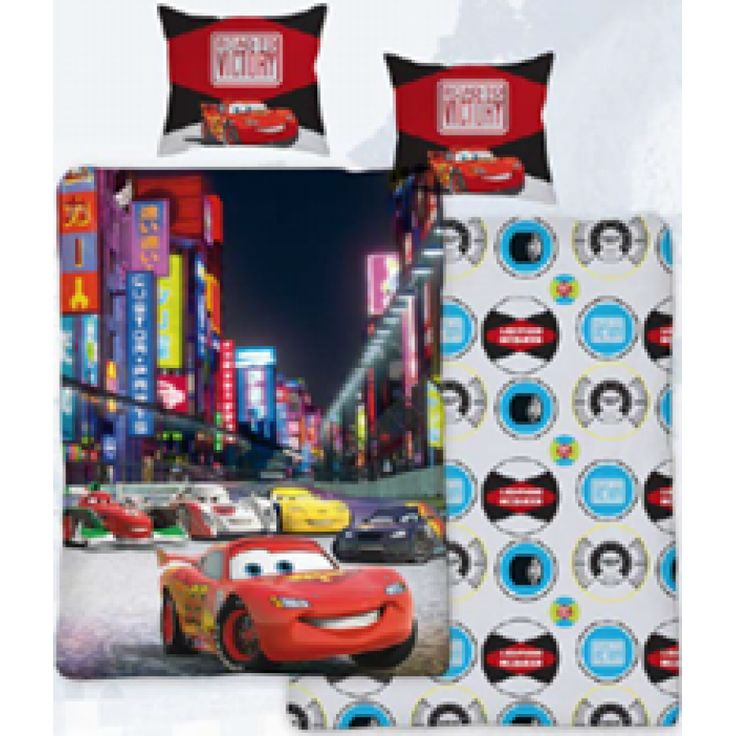 Disney Cars sengesett