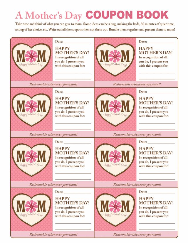 20 Free Mother's Day Printables - The Girl Creative
