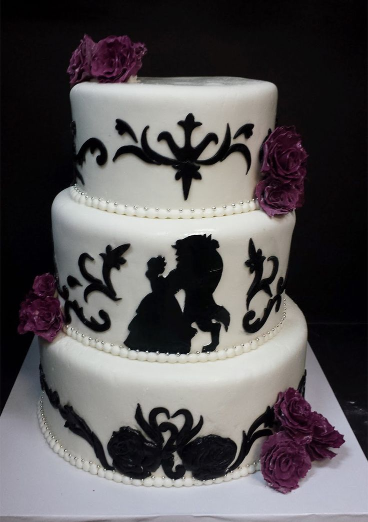 Fall In Love With These Disney Inspired Wedding Cakes